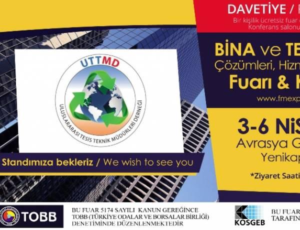 Bina ve Tesis Yönetim Çözümleri, Hizmetleri, Ekipmanları Fuarı & Konferansı